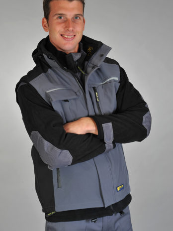 BODYWARMER Softshell grey/black