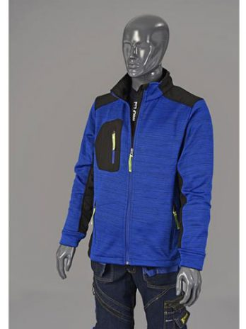 JERSEY Jacket blauw