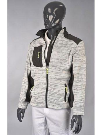 JERSEY Jacket grijs
