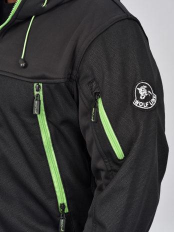 SAMOA Jacket Softshell/rib