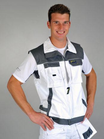 Vest zonder mouwen / met mouwen