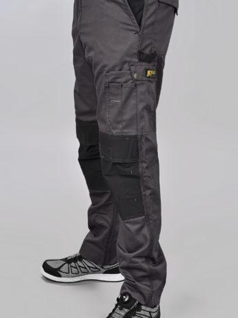 Werkbroek BI-COLOR grijs/zwart