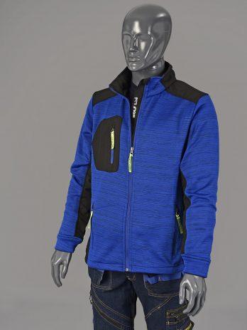 Jersey Jacket Bleu