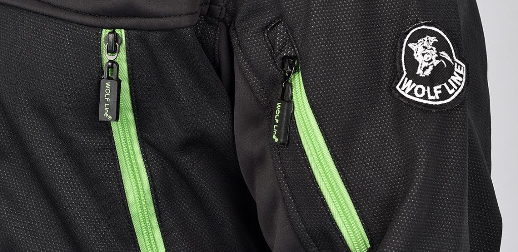 SAMOA Softshell Rip Jacket noir2